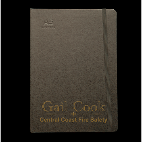 Personalised Black Journal - Corporate