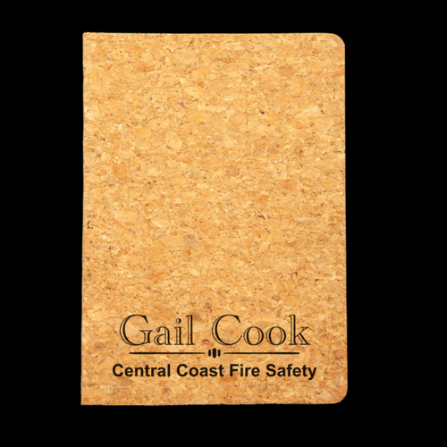 Personalised Cork Journal - Corporate