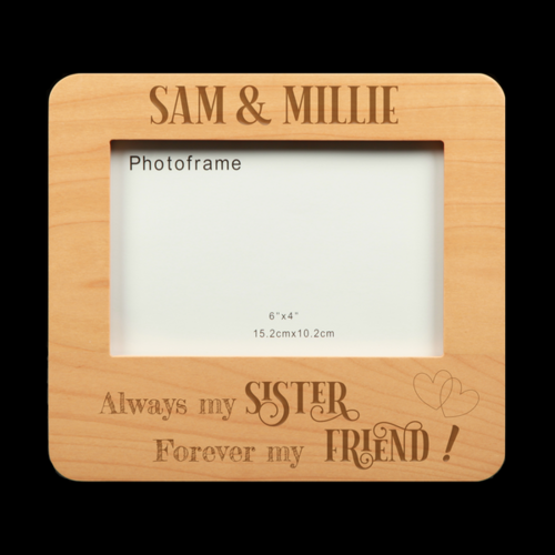 Personalised Photo Frame - My Sister My Friend