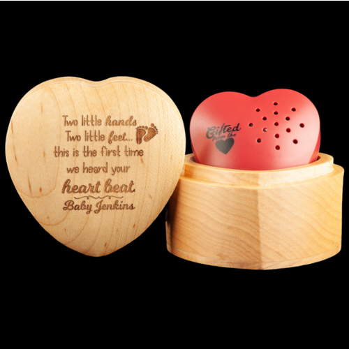Two little hands, two little feet..Heartbeat! - Personalised