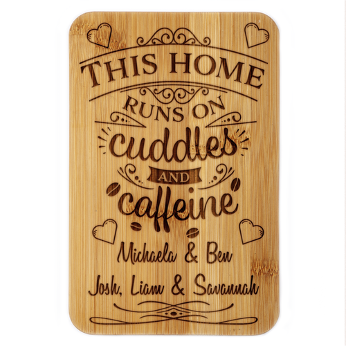 Cuddles & Caffeine  Plaque