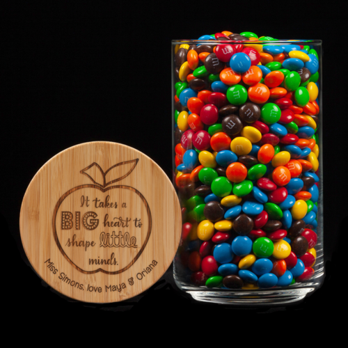 Personalised Lolly Jar - It Takes A Big Heart To Shape Little Minds
