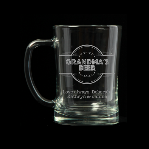 Personalised Tankard - Grandma's Beer