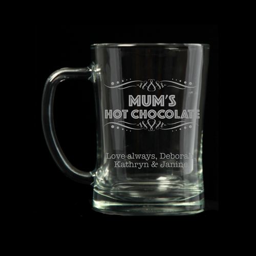 Personalised Tankard - Mum's Hot Chocolate